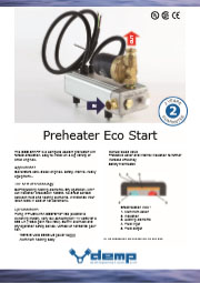 Preheater Eco Start flyer