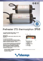 Preheater ITS thermosiphon IP68 flyer